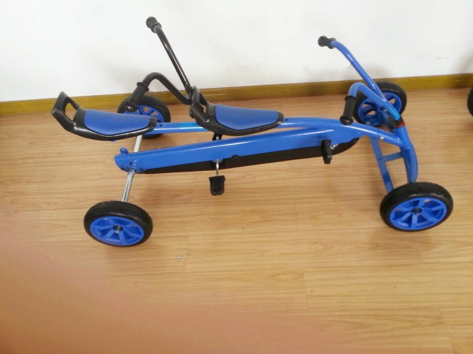Two Person Drive Pedal Car For Kids Buy Pedal Car Two