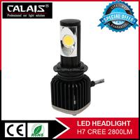 Wholesaler price daytime running light for toyota camry cob led headlights work bulbs