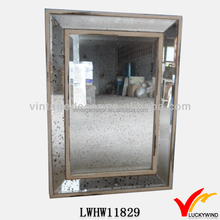 Rectangular Accent Deco Vintage Hung Antique Wall Mirrors