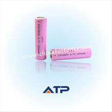 Venta al por mayor en silla de ruedas de iones de litio de la batería/1800 3.7v mah batería de litio recargable 18650