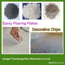 Eco Friendly Single Colour Paint Flakes