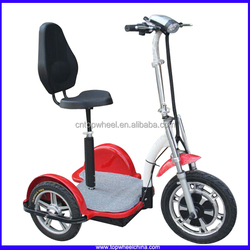 Topwheel TP012 Big Rear Wheel 3 Wheel Electric Zappy Moped Scooter