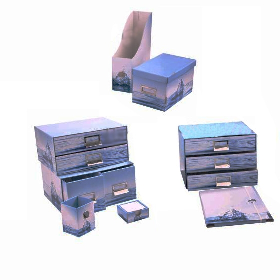Paper Drawer Cardboard Chest Drawers Corrugated Storage