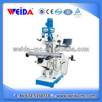 Gear Head Universal Vertical Drilling Milling Machine XZ6350G