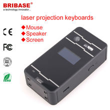 Mini Wireless Bluetooth Virtual Infrared Laser Keyboard and Mouse for Ipad