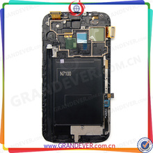 Come Here To Get The Competitive Price! Smart Phone Parts For Samsung Note 2 LCD Display Complete w/ Frame