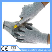 High Quality Level 5 Cut Resistant PU Palm Coated Machines To Make PU Gloves