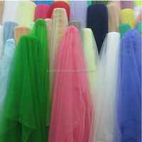 fabric mesh wedding dress warp knitting fabric