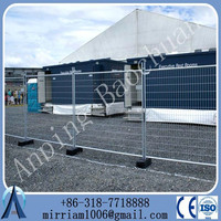 Hot Sale!!!!China suppier crowded control barrier australia temporary fence