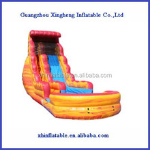 fire and ice inflatable water slide/inflatable pool slide for kids and adults