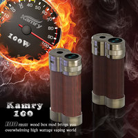 Kamry 100watt wood box mod, kamry100 wooden vaporizer pen