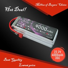 RC Car helicopter 22.2V batteries 4000 mah