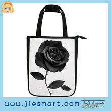 JSMART straight handbag digital photo sublimation printing woman bag