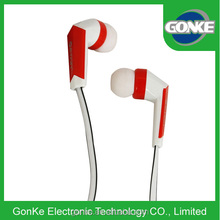 Lovely earphone long wire Headphone logo printed factory