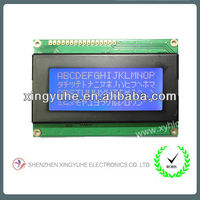 STN Blue Transmissive 16x4 lines character lcd