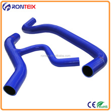 Branch silicone hose for turbine superchargers and coolants