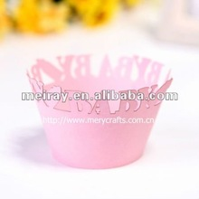 """fancy design! children party suply """"baby bottle"""" cupcake wrapper"""