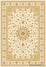 Popular persian viscose machine woven washable floor rugs