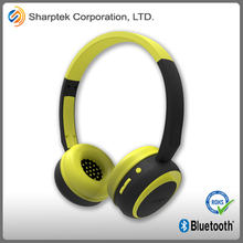OEM Best Luxury Colorful 40mm Driver Wireless Mp3 Sports Headphone with microphone