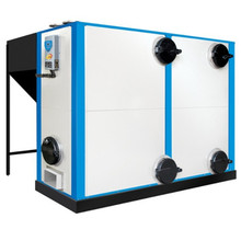 Horizontal gasification hot water coal fired steam boiler for sale