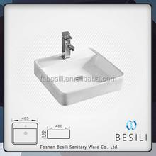 Counter top washing basin for australia bathroom design D8004