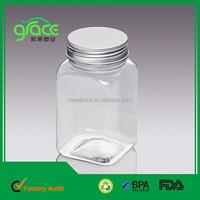 Plastic Aluminum Lid Container Supplier clear rectangular plastic container and lid