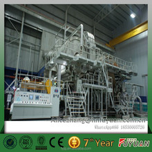 advanced tissue paper making machine with using waste paper as raw materials