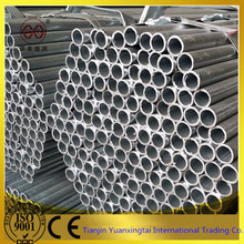 Carbon erw zinc plated steel pipe price for greenhouse