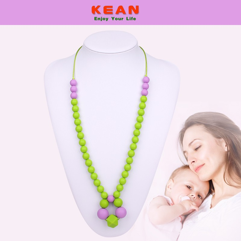 Educational Toys Autistic : Silicone teething necklace educational toys for children