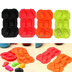 Corfull cake mold food grade silicone,car shaped silicone mold for making cake