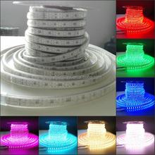 ETL LED china manufacturer 50m/Roll 60led/Meter high voltage led strip double line rgb ETL led strip 120led/m