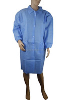 JC1106 Disposable Nonwoven Visit Gown and Lab Coat