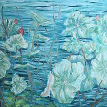 Raining artwork impressionist handmade Oil Painting On Canvas For Decoration