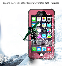 2015 New waterproof case for iphone 6s/6 full body skin case protect cover