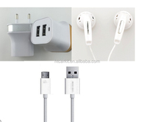 Mobile Phone 3in1 USB charger for Samsung Galaxy S5 S4 S3 Note 4