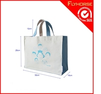 Wholesale Cheap Promotional Recycled Cotton Tote Shopping Bag