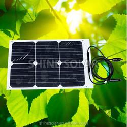 High efficiency factory directly supply 250W Sunpower poly Solar Module 18w 12v
