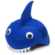 Top New Funny Party Hat Felt Shark Child Hat Crochet Wholesale HT2891