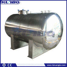 Stainless steel insulated water storage tank