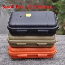Outdoor Camping Waterproof & Shockproof Storage Box Against Pressure High-tech Sealed Lifesaving Case Tool