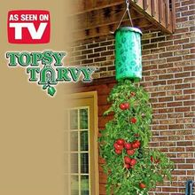 Home Yard Organic Garden Tomato Planter Topsy Turvy Upside-Down As Seen on TV Topsy Turvy Upside-Down Plant Pot Tomato Vegetable