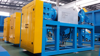 Screw compactor for films/woven bags/plastic compactor machine