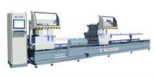 Double head CNC Precision Cutting Machines/aluminum doors and windows machinery