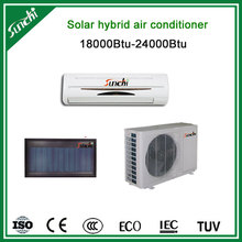 2014 hot selling air source hybrid solar powered air conditioner