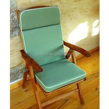 Home Fashions folding Outdoor High Back Chair Cushion