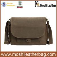 JW826 Military Leather Menssenger Bag
