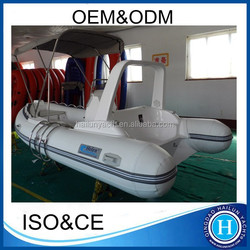CE approved rigid inflatable boats rib hypalon inflatable boat made in china
