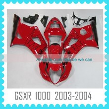 Motorcycle Fairing for SUZUKI GSXR1000 K3 2003 2004 all you like