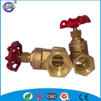 2015 hot sale cw617n brass cast iron handle inside screw non rising stem gate valve