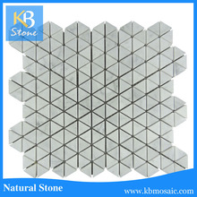 Hexagon Dan white marble mixed Hexagon premium mosaics tile Of M001